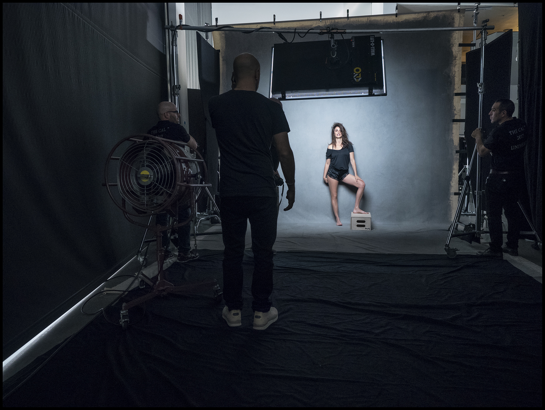 Behind The Scenes - Pirelli The Cal 2017 by Peter Lindbergh