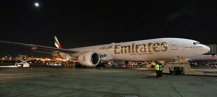Emirates Route Launch at Newark Liberty