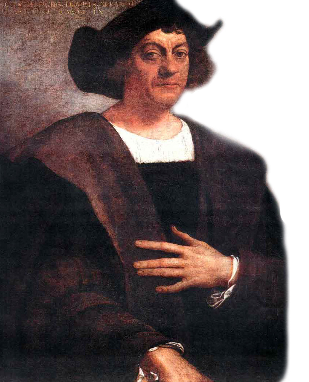 Portrait of Christopher Columbus by Sebastiano del Piombo.