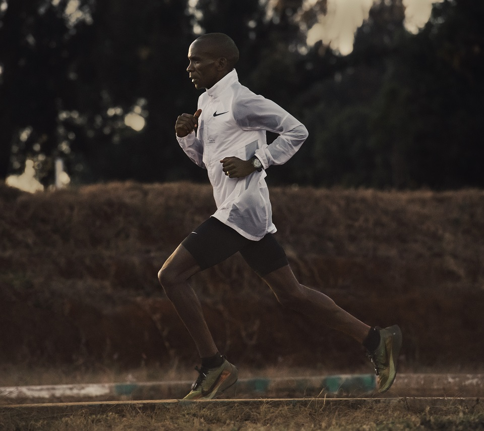 Eliud Kipchoge training