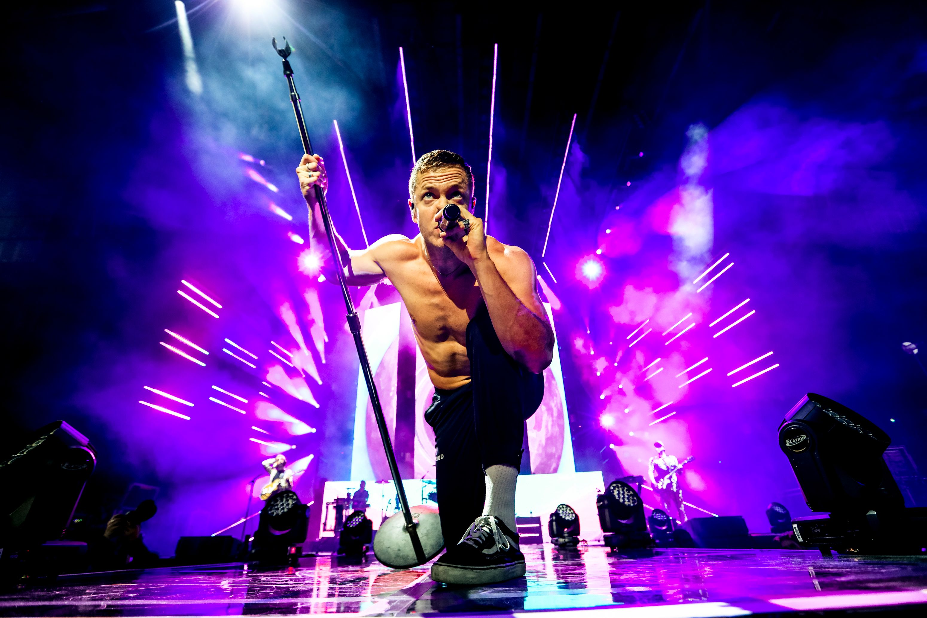 Imagine Dragons in concert, Toronto, Canada - 14 Jun 2018