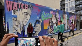 HONOR shines a light on smartphone stereotypes with 'evolving' street art mural