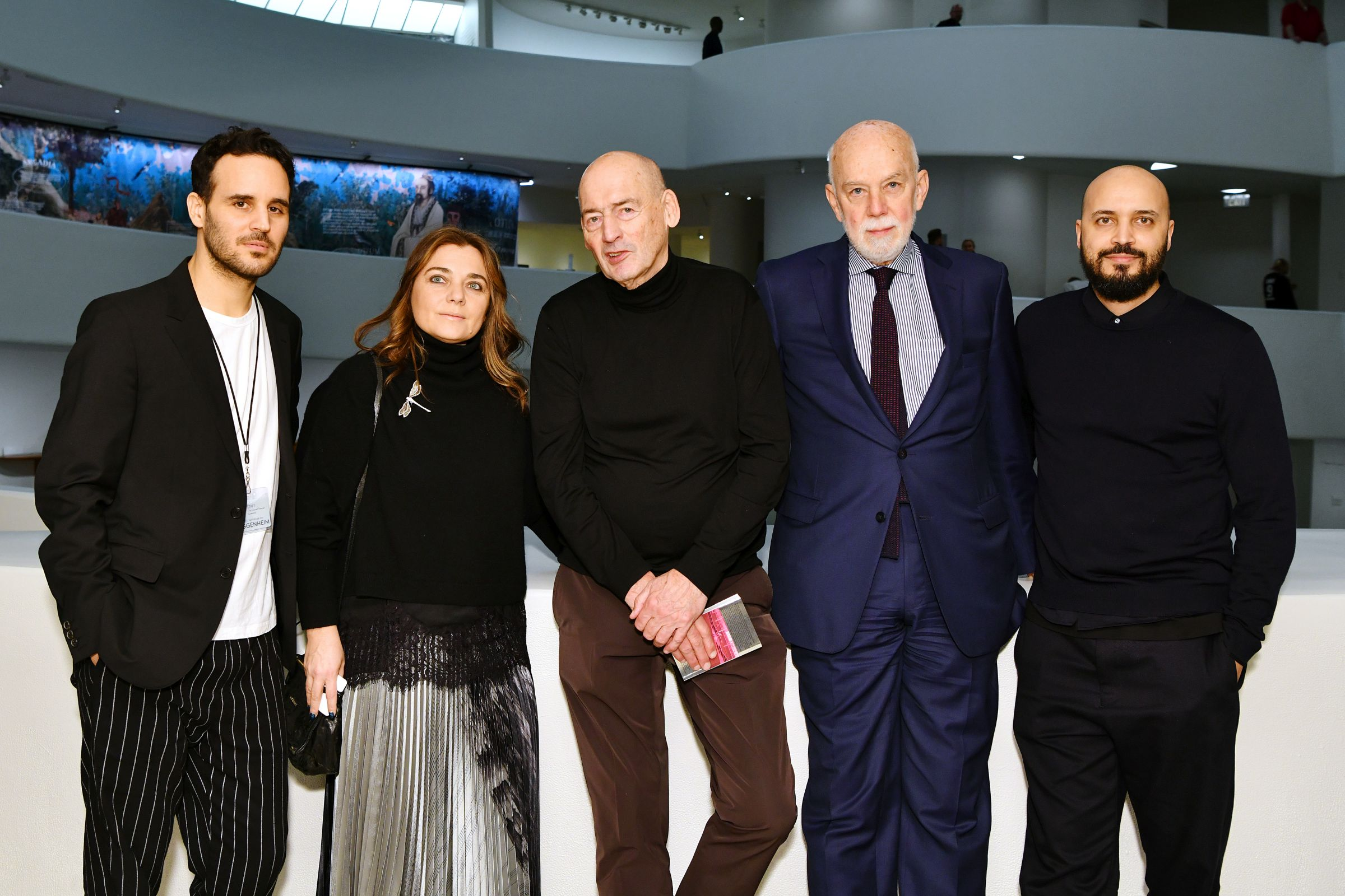 Lavazza Continues To Grow Partnership With The Solomon R. Guggenheim Museum In New York Supporting the Latest Exhibition, Countryside, The Future - Day 1