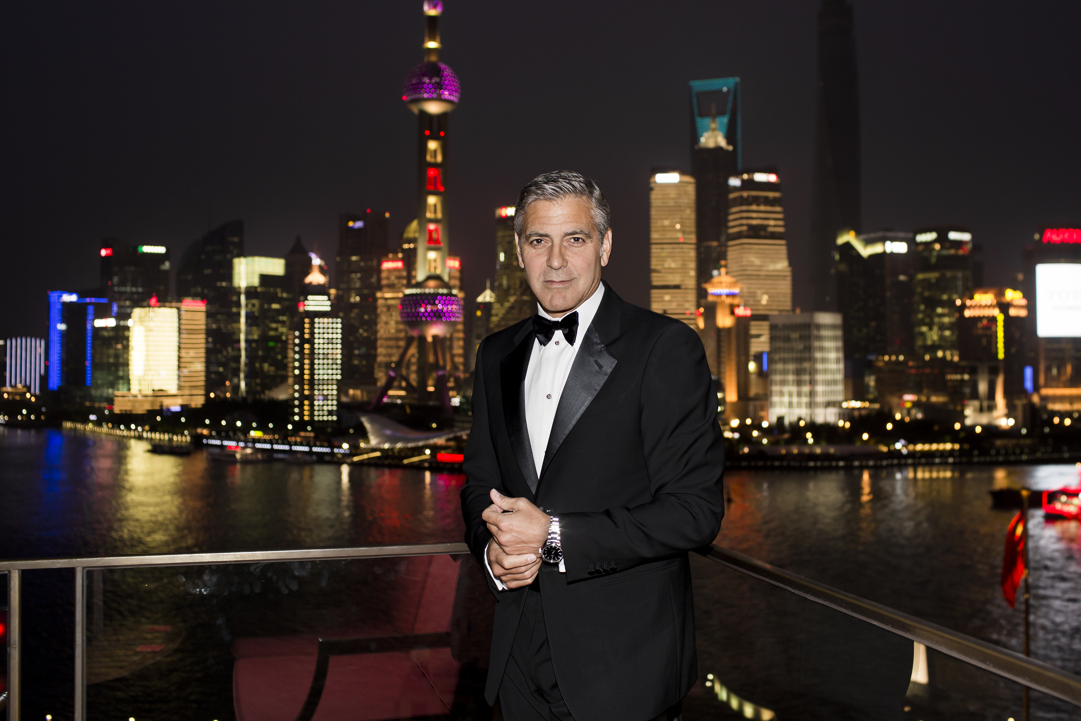 George_Clooney_joins_OMEGA_in_Shanghai