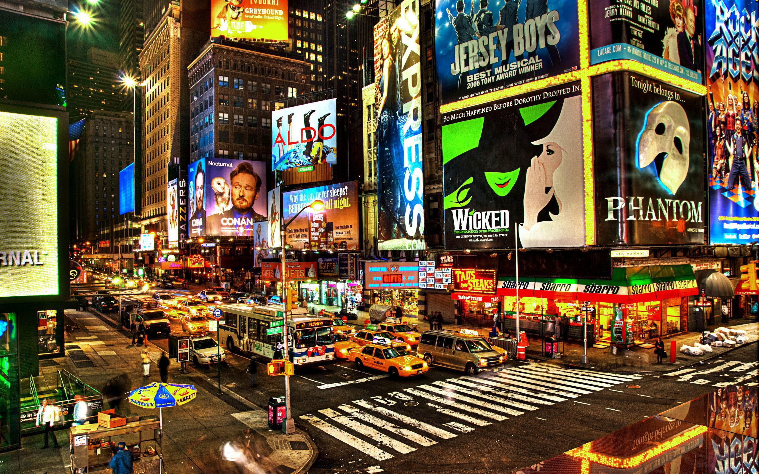 new-york-city-broadway-night