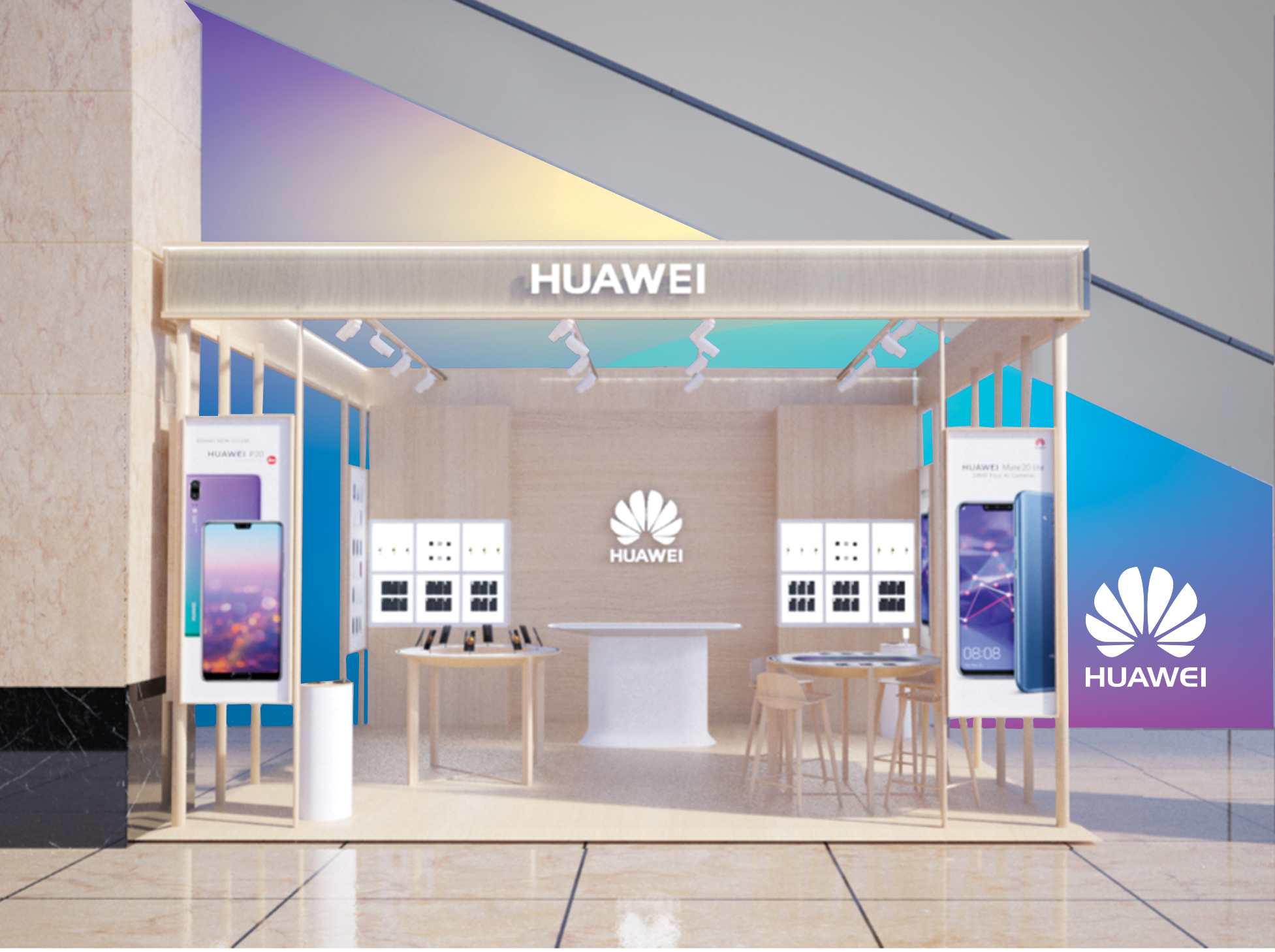 Huawei Pop-Up Store